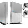 Xbox One S Adesivo Skin Fibra Cromo