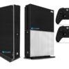 Xbox One S Adesivo Skin Fibra Preto