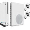 Xbox One S Adesivo Skin I Fibra Branco