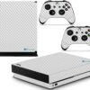 Xbox One X Adesivo Skin Fibra Transparente