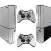 Xbox Super Slim Adesivo Skin Fibra Cromo