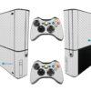 Xbox Super Slim Adesivo Skin Fibra Transparente