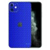 Apple iPhone 11 Adesivo Skin Película Fibra Azul