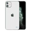 Apple iPhone 11 Adesivo Skin Película Fibra Branco