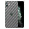 Apple iPhone 11 Adesivo Skin Película Fibra Cinza