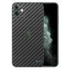 Apple iPhone 11 Adesivo Skin Película Fibra Preto