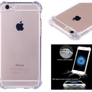 Capa Case Apple iPhone 6 Max Anti Shock Transparente Tpu