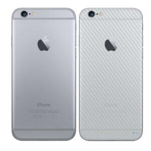iPhone 6 Adesivo Skin Película Traseira Fibra Transparente