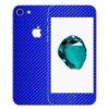 iPhone 7 Apple Adesivo Skin Película Fibra Azul