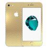 iPhone 7 Apple Adesivo Skin Película Fibra Dourado