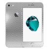 iPhone 8 Apple Adesivo Skin Película Fibra Cromo