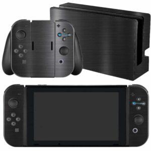 Adesivo Skin Película Nintendo Swicht Dark Escovado