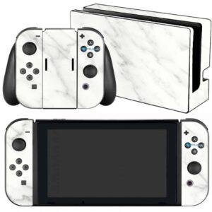 Adesivo Skin Película Nintendo Swicht Marmore Bianco