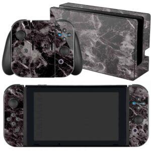 Adesivo Skin Película Nintendo Swicht Marmore Nero