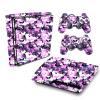 Adesivo Skin Playstation 3 Slim PS3 Pelicula Camo Purple Roxo