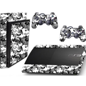 Adesivo Skin Playstation 3 Super Slim PS3 Pelicula Camo Ghost