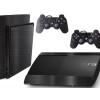 Adesivo Skin Playstation 3 Super Slim PS3 Pelicula Dark Escovado