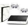 Adesivo Skin Playstation 3 Super Slim PS3 Pelicula Marmore Bianco
