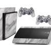 Adesivo Skin Playstation 3 Super Slim PS3 Pelicula Marmore Carrara