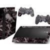 Adesivo Skin Playstation 3 Super Slim PS3 Pelicula Marmore Nero