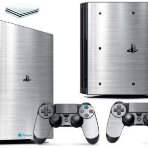 Adesivo Skin Playstation 4 PS4 Pro Pelicula Cromo Escovado