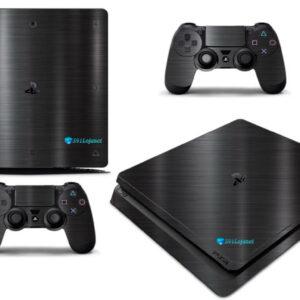 Adesivo Skin Playstation 4 Slim Pelicula Dark Escovado