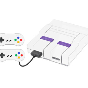 Adesivo Skin Super Nintendo Snes Pelicula Brilho Cor Branco