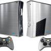 Adesivo Skin Xbox 360 Slim Pelicula Cromo Escovado