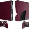 Adesivo Skin Xbox 360 Slim Pelicula Metalico Malbec