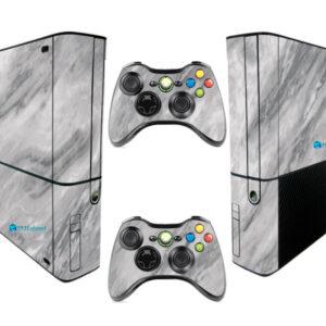Adesivo Skin Xbox 360 Super Slim Pelicula Marmore Carrara