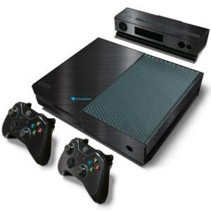 Adesivo Skin Xbox One Fat Pelicula Dark Escovado