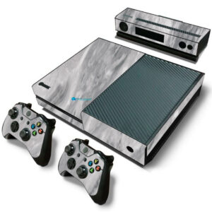 Adesivo Skin Xbox One Fat Pelicula Marmore Carrara
