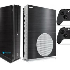 Adesivo Skin Xbox One S V2 Pelicula Dark Escovado