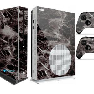Adesivo Skin Xbox One S V2 Pelicula Marmore Nero