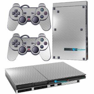 Adesivo Skin Playstation 2 Slim PS2 V1 Pelicula Fibra Cromo.jpg
