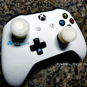 Kontrol Freek Analogico Controle Xbox One FPS Shooter Tiro Extensor Protetor Grip Cor Branco