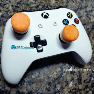 Kontrol Freek Analogico Controle Xbox One FPS Shooter Tiro Extensor Protetor Grip Cor Laranja