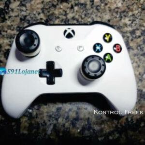 Kontrol Freek Analogico Controle Xbox One FPS Shooter Tiro Extensor Protetor Grip Cor Preto