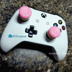 Kontrol Freek Analogico Controle Xbox One FPS Shooter Tiro Extensor Protetor Grip Cor Rosa