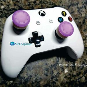 Kontrol Freek Analogico Controle Xbox One FPS Shooter Tiro Extensor Protetor Grip Cor Roxo