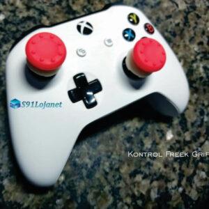 Kontrol Freek Analogico Controle Xbox One FPS Shooter Tiro Extensor Protetor Grip Cor Vermelho